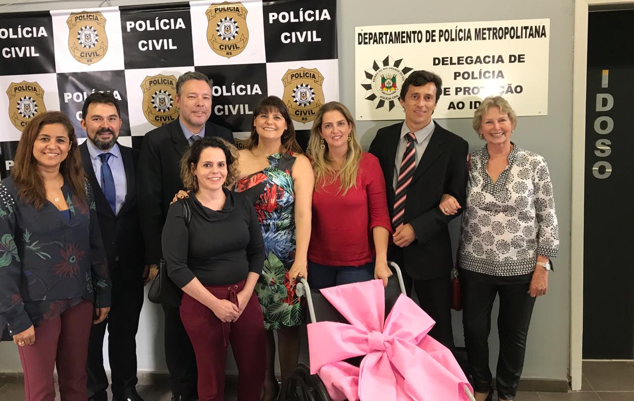 Reinauguração Delegacia do Idoso em Porto Alegre